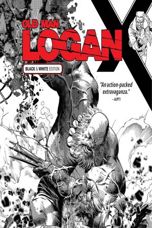 Wolverine: Old Man Logan Vol. 6 - Days of Anger Black and White (Trade Paperback)