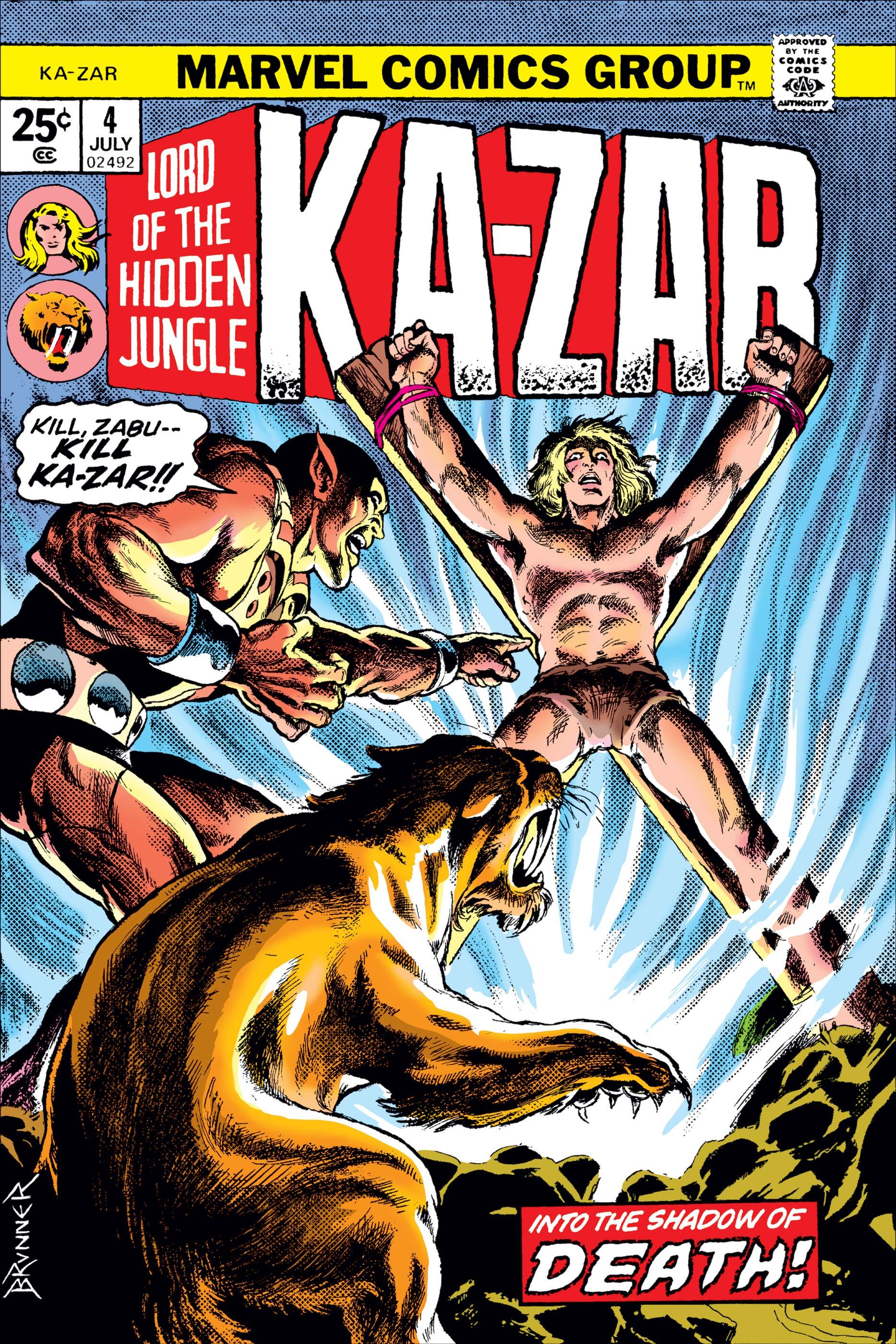 Ka-Zar (1974) #4
