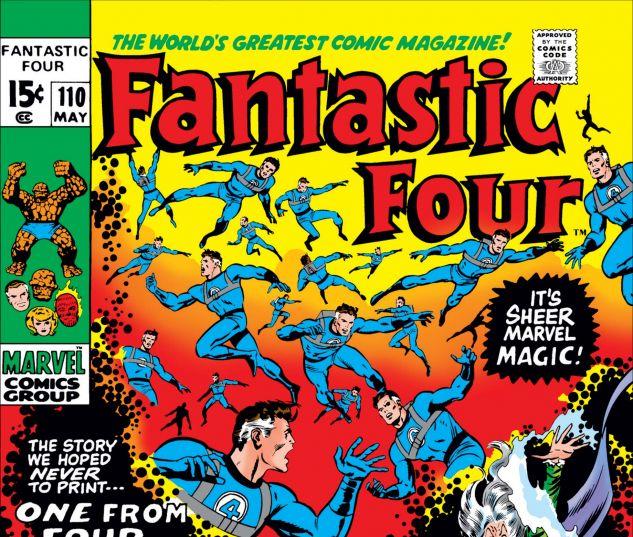 FANTASTIC FOUR (1961) #110