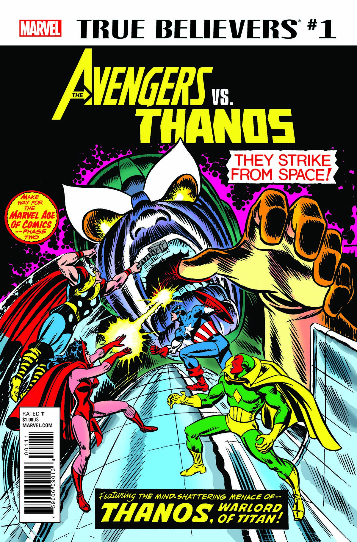 True Believers: Avengers Vs. Thanos (2018) #1