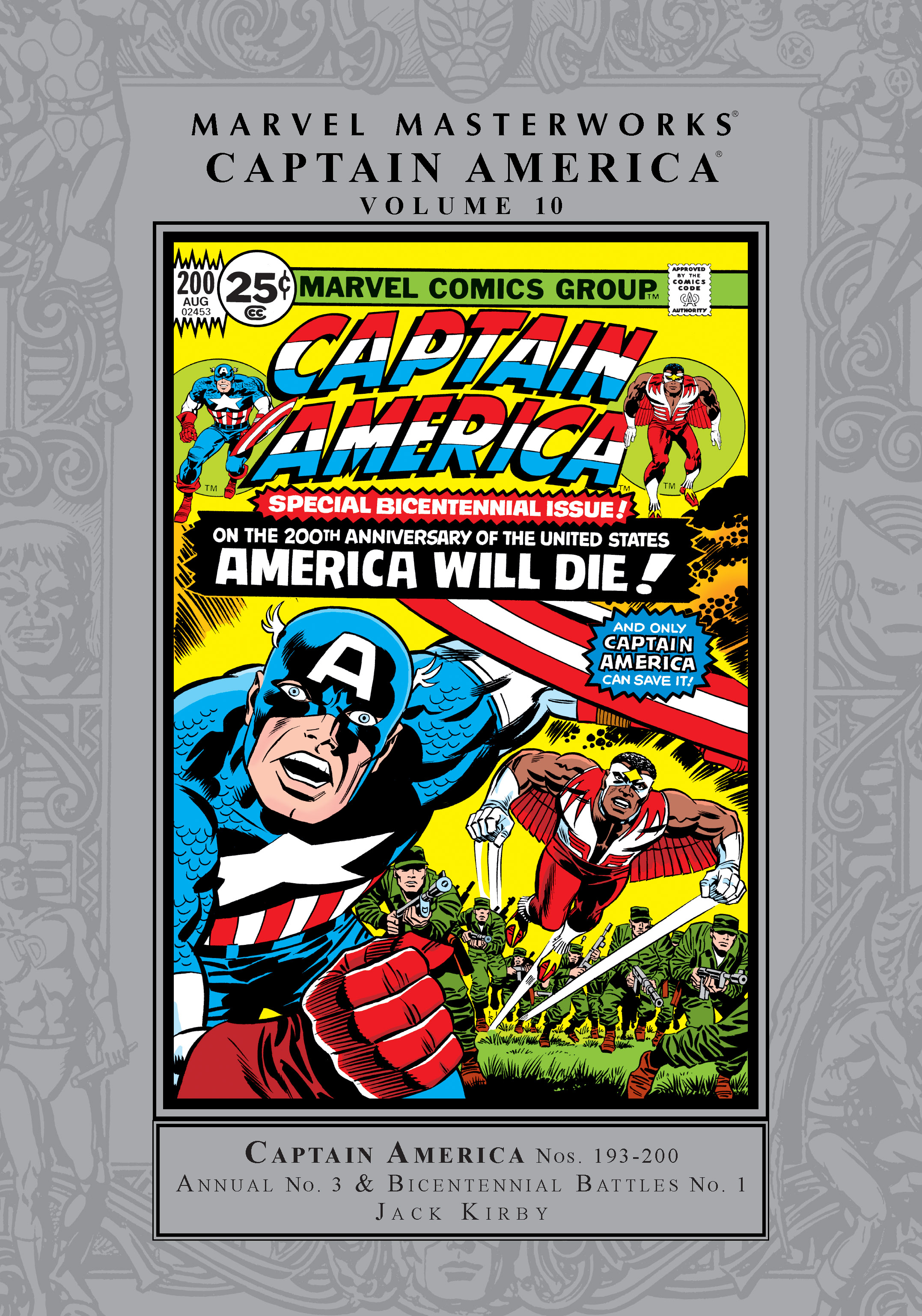 Marvel Masterworks: Captain America Vol. 10 (Hardcover)