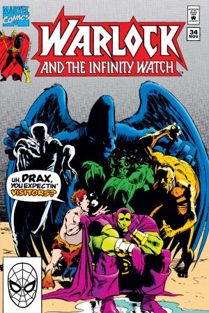 Warlock and the Infinity Watch (1992) #34