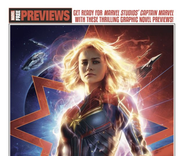 cover from Captain Marvel Barnes & Noble Start Here Sampler (2019) #1