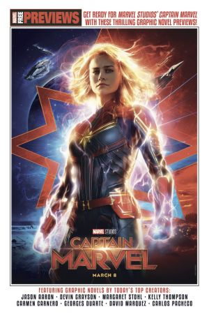 Captain Marvel: Start Here Sampler (2019) #1