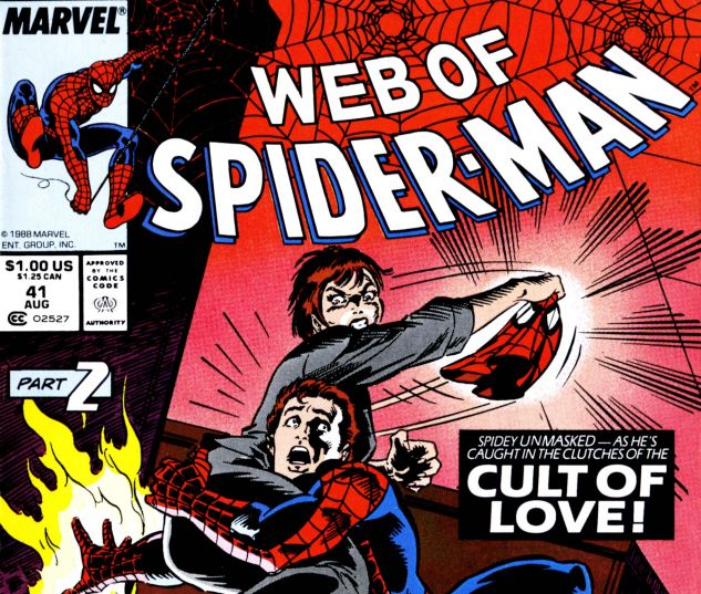 Web of Spider-Man (1985) #41