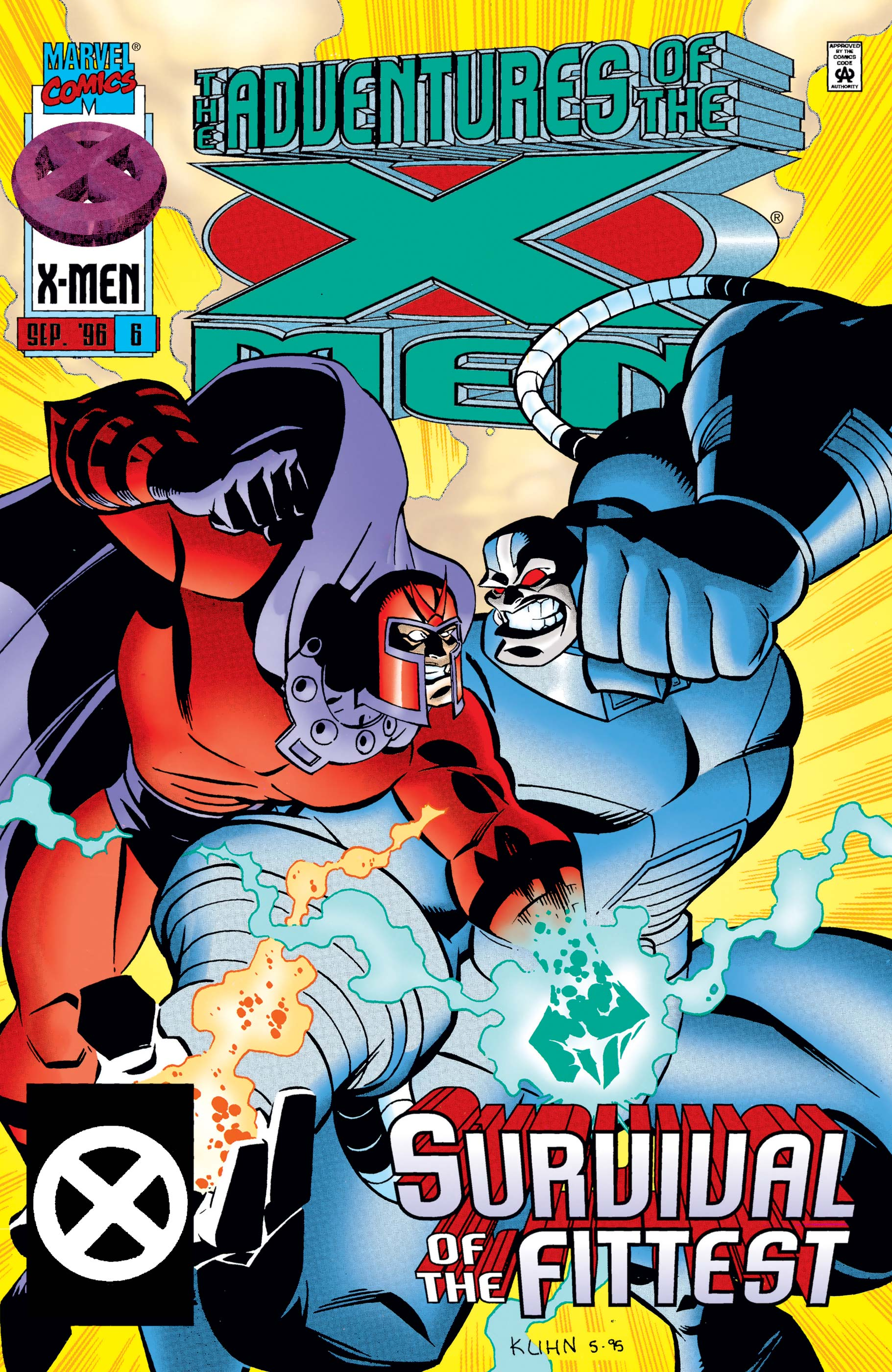 Adventures of the X-Men (1996) #6