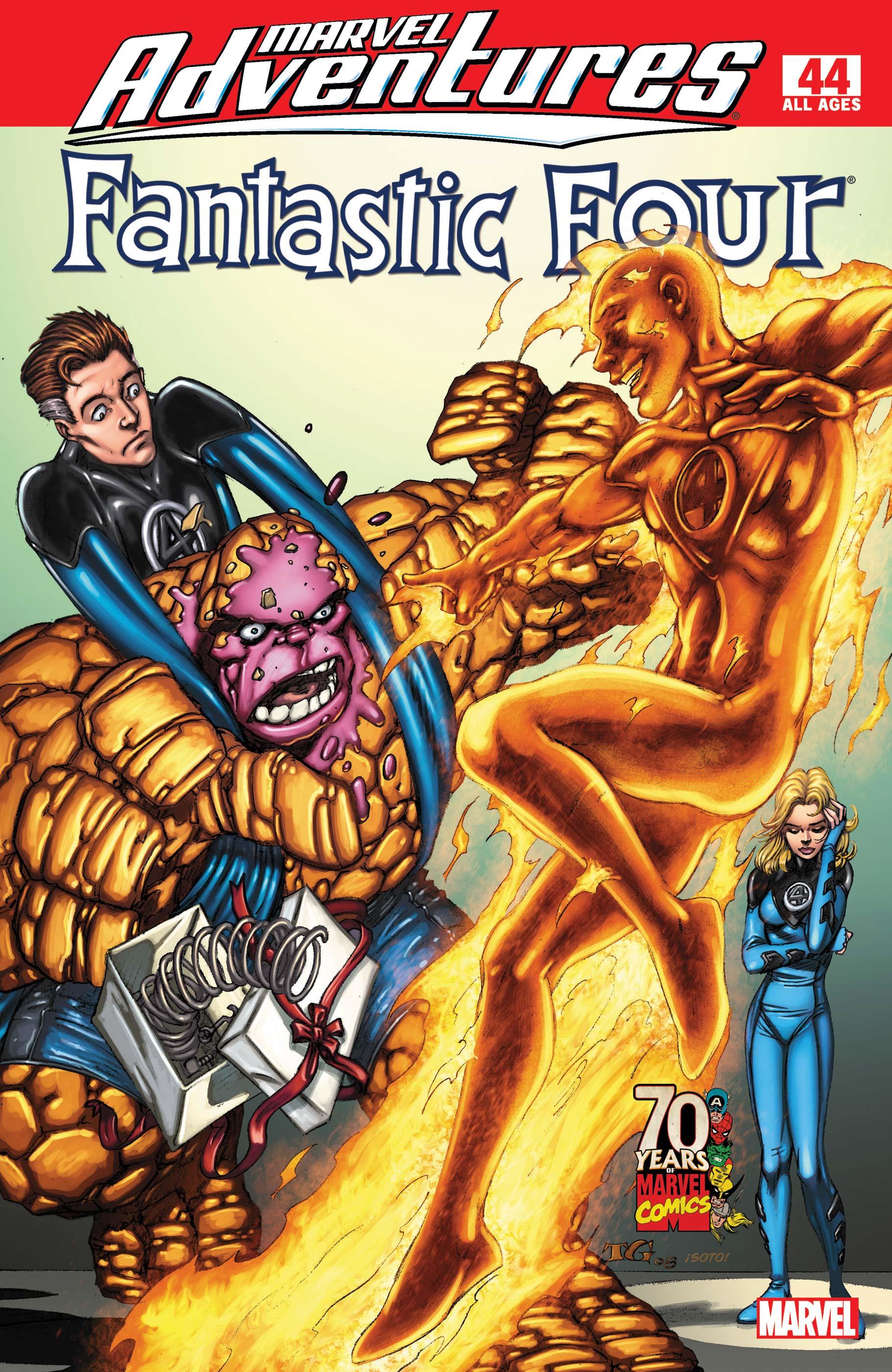 Marvel Adventures Fantastic Four (2005) #44