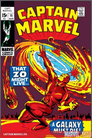 Captain Marvel (1968) #15
