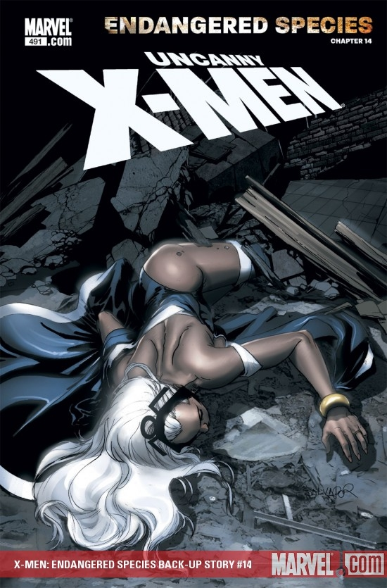 X-Men: Endangered Species Back-Up Story (2007) #14