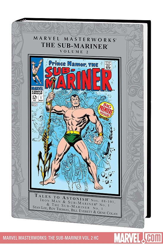 Marvel Masterworks: The Sub-Mariner Vol. 2 (Hardcover)