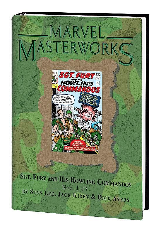 Marvel Masterworks: Sgt. Fury Vol. 1 - (Hardcover)