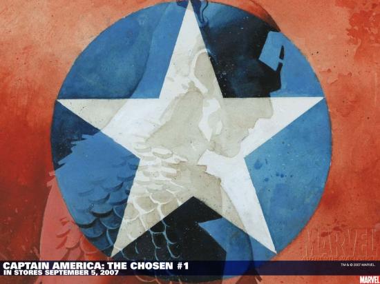 Captain America: The Chosen (2007) #1 Wallpaper
