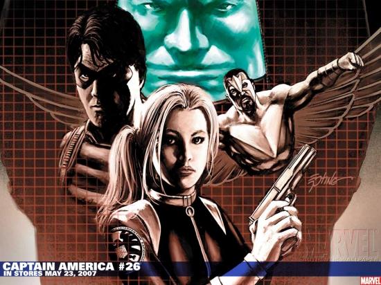 Captain America (1998) #26 Wallpaper