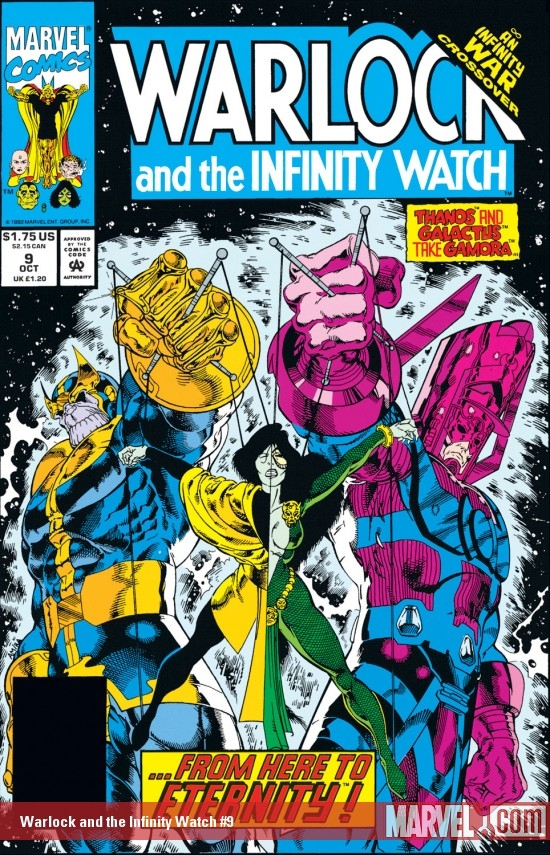 Warlock and the Infinity Watch (1992) #9