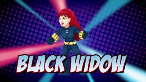 Super Hero Squad Online: Black Widow Vignette