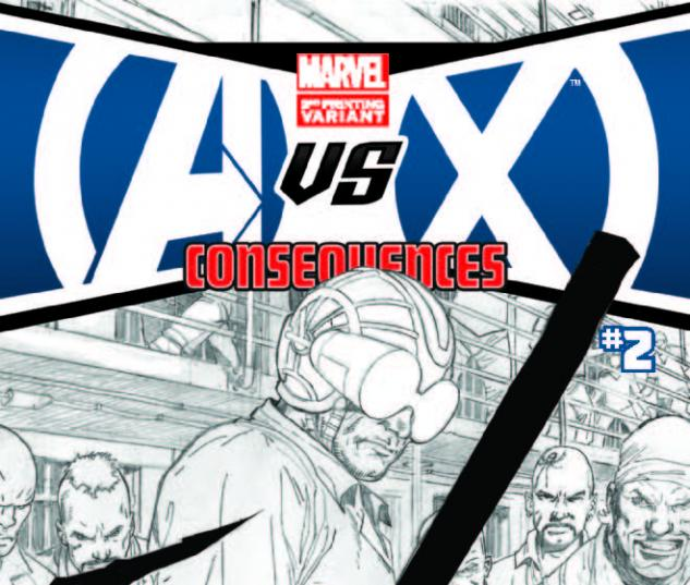 AVX: CONSEQUENCES 2 2ND PRINTING VARIANT (WITH DIGITAL CODE)