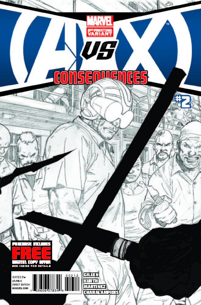 Avengers Vs. X-Men: Consequences (2012) #2 (2nd Printing Variant)