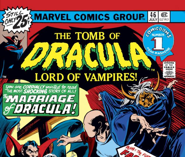 Tomb of Dracula (1972) #46 Cover