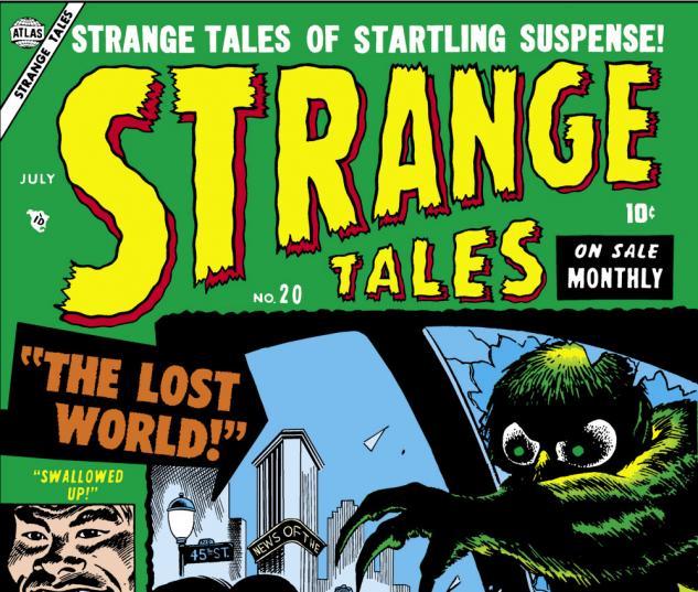 Strange Tales (1951) #20 Cover