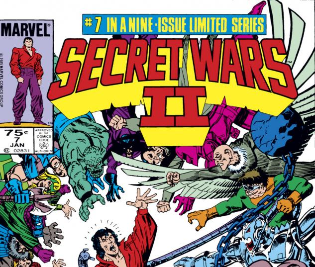 Secret Wars II (1985) #7 Cover