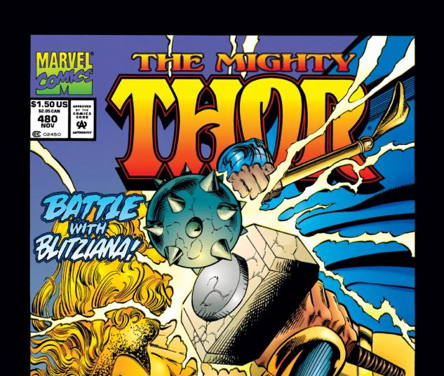 Thor (1966) #480 Cover