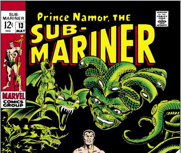 Sub-Mariner (1968) #13 Cover