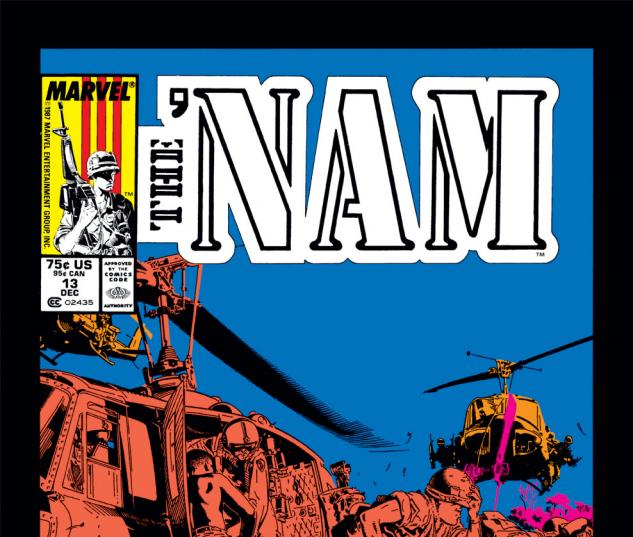 The 'Nam (1986) #13 Cover
