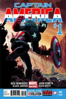 Captain America #1  (2nd Printing Variant)