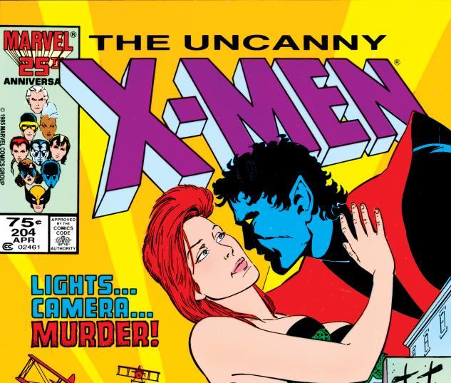 Uncanny X-Men (1963) #204 Cover