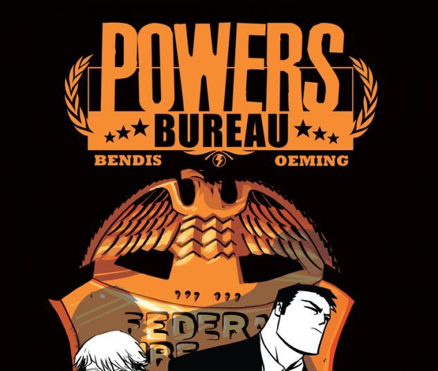 POWERS: BUREAU 1 2ND PRINTING VARIANT