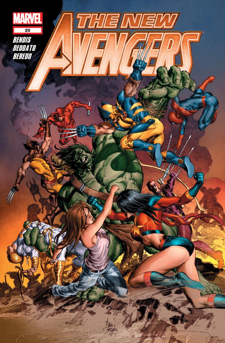New Avengers (2010) #20
