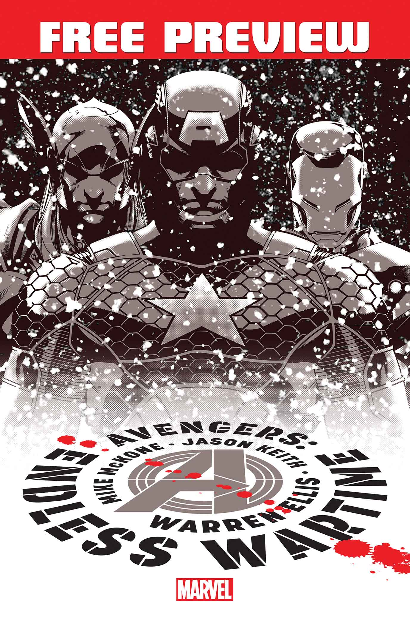 Avengers: Endless Wartime/ONCE Sampler (2013) #1