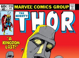 Thor (1966) #318 Cover