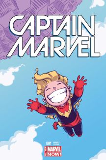 Captain Marvel (2014) #1 (Young Variant)