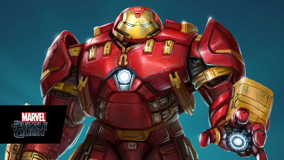 Iron Man Fan Art HulkBuster In Marvel Puzzle Quest By