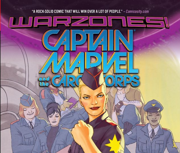 cover from Captain Marvel & the Carol Corps (2015)