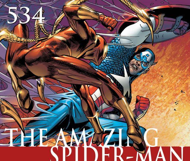 AMAZING SPIDER-MAN (1999) #534 Cover