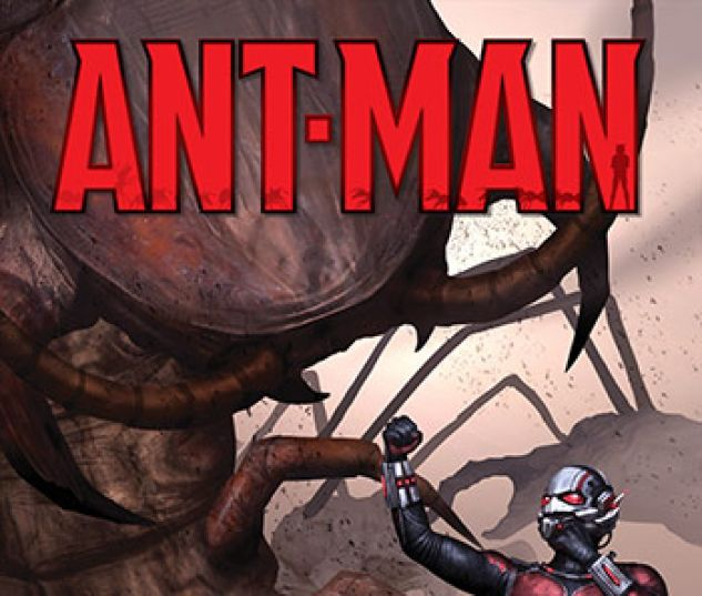 cover to Ant-Man: Larger than Life Infinite Comic