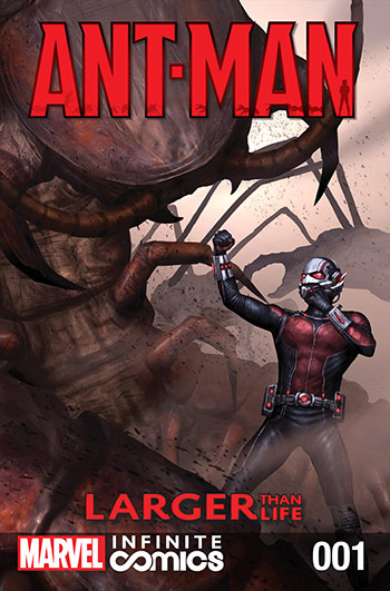 Ant-Man: Larger than Life (2016) #1