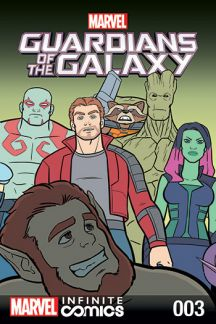 GUARDIANS OF THE GALAXY: AWESOME MIX INFINITE COMIC #3