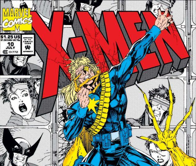X-MEN (1991) #10