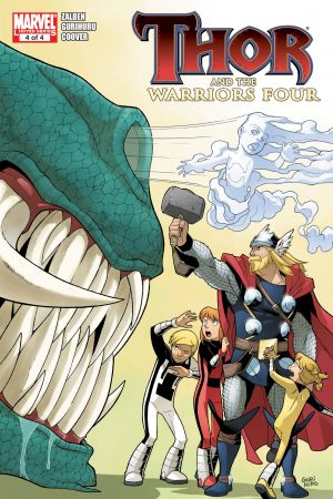 Thor and the Warriors Four #4