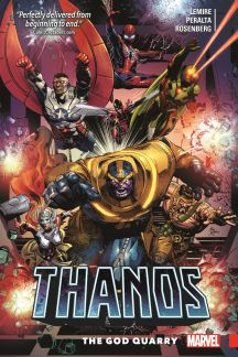 Thanos Vol. 2: The God Quarry (Trade Paperback)