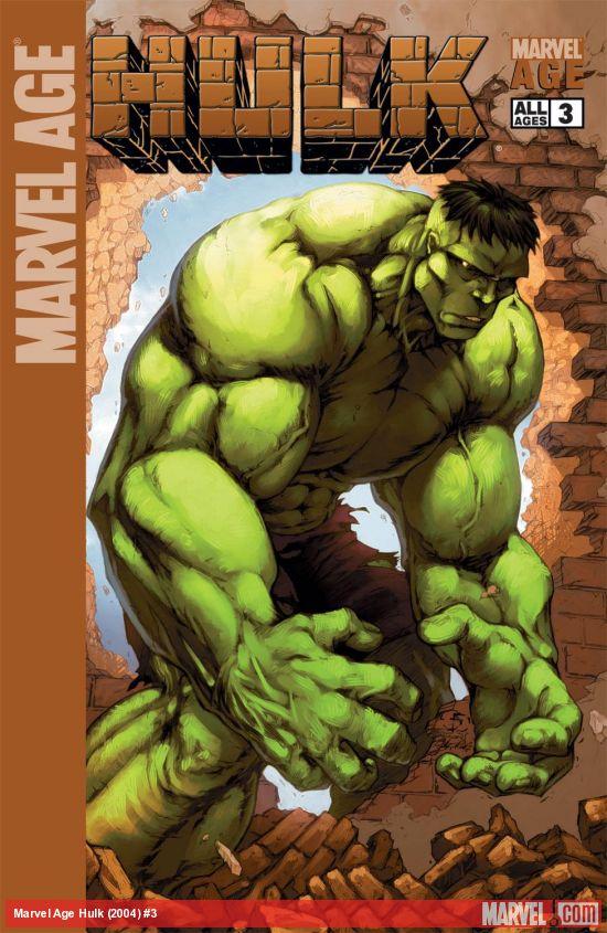 Marvel Age Hulk (2004) #3
