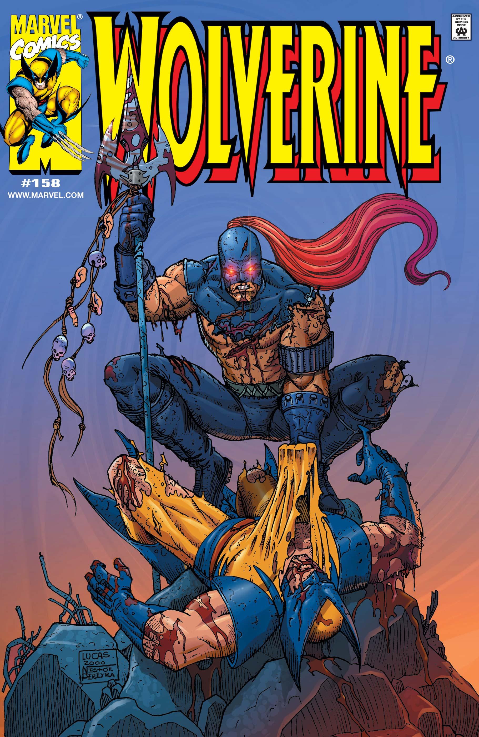 Wolverine (1988) #158
