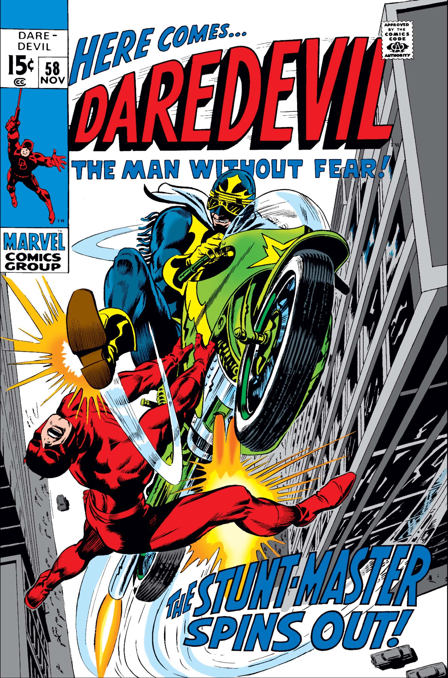 Daredevil (1964) #58