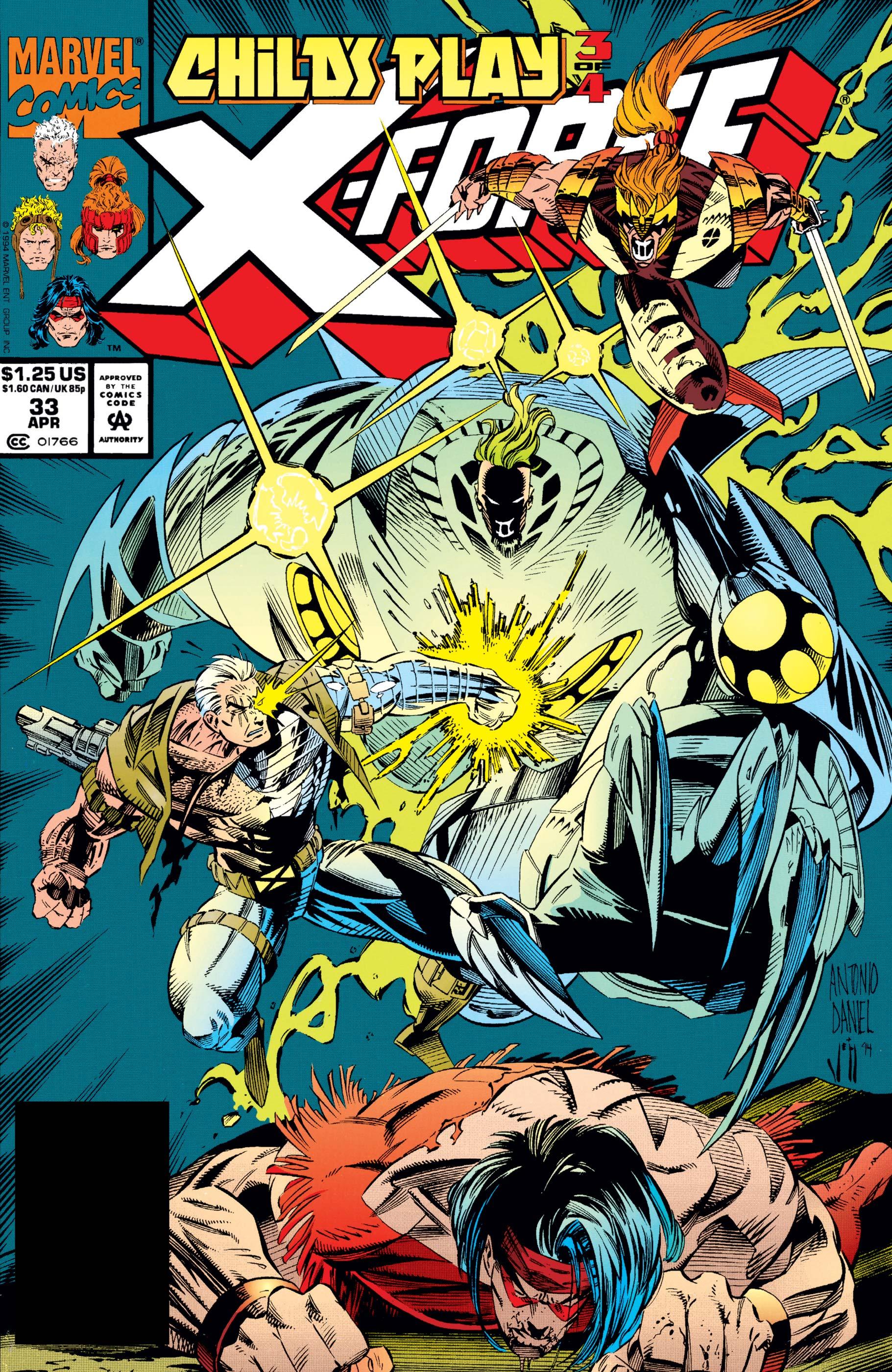 X-Force (1991) #33