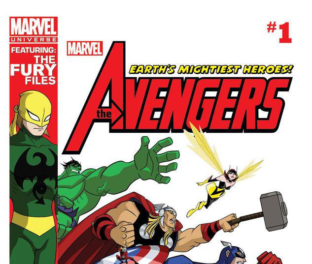 Marvel Universe Avengers: Earth's Mightiest Heroes #1