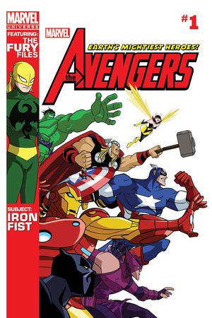Marvel Universe Avengers: Earth's Mightiest Heroes (2012) #1