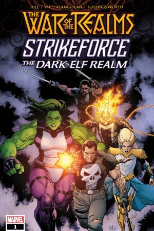 War of the Realms Strikeforce: The Dark Elf Realm (2019) #1